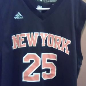 Derrick Rose New York Knicks jersey